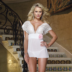 Lacy seduction babydoll - babydoll and panty set