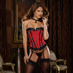 Oriana corset and thong
