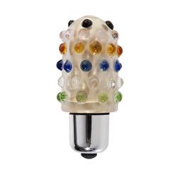 Lil pleasures glass vibrator - bullet vibrator