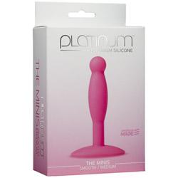 Butt plug - Platinum minis medium - view #2