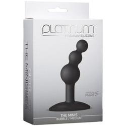 Butt plug - Minis bubble medium - view #2