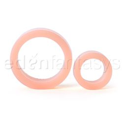 Cock ring - Platinum silicone cock ring double pack - view #2