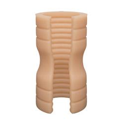 Penis stroker - The tru stroke ribbed - view #1