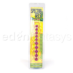 Beads - Purple anal jelly beads - view #4