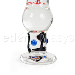Glass G-spot shaft - Topsy turvy - view #2