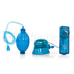 Vibrating clitoral and vaginal pump - clitoral pump