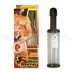 Penis pump - Stallion pump - view #1