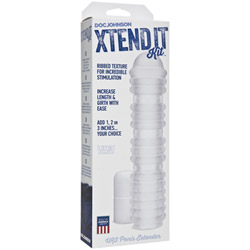 Textured penis sleeve - Xtend it kit - view #2