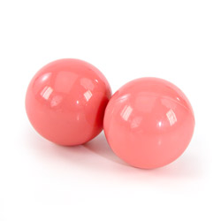 Ben-wa balls - exerciser for vaginal muscles