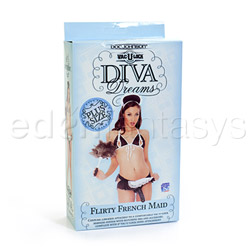 Double strap harness - Diva Dreams flirty french maid with dong - view #5
