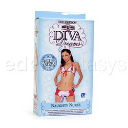 Double strap harness - Diva Dreams naughty nurse with dong - view #5
