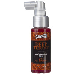 Good head deep throat spray - stimulating gel