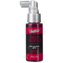 Good head deep throat spray - edible spray