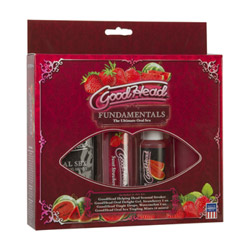 Edible gel - Goodhead fundamentals oral sex kit - view #2