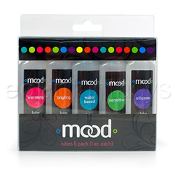 Mood lube 5 pack - lubricant