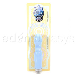 Traditional vibrator - Blu toys queen - view #3
