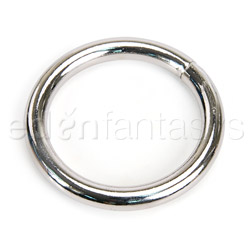 Plated chrome ring - sex toy