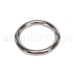Plated chrome ring