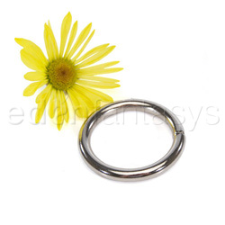 Multipurpose ring  - Plated chrome ring - view #2