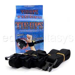 Tie-ups tie offs - restraints