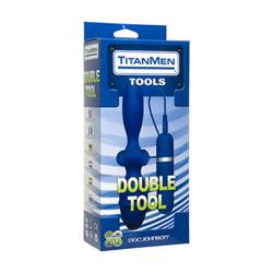 Double penetration vibrator - Titanmen double tool - view #2