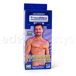Realistic dildo  - Titanmen David Anthony - view #6