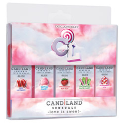 Lubricant - Candiland glide 5 pack - view #2