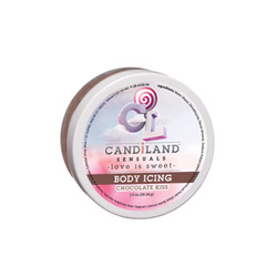 Edible body butter - Candiland body icing chocolate kiss - view #1