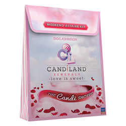 Massage oil kit - Candiland weekend affair kit - view #2