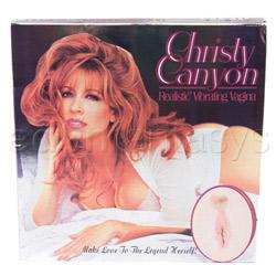 Realistic vagina - Christy Canyon vagina - view #3