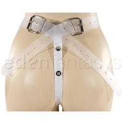 G-string harness - Jenna's vac-u-lock saddle - view #4