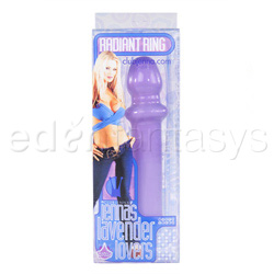 Traditional vibrator - Jenna's lavender lovers radiant ring - view #4