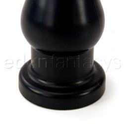 Butt plug - Bonez black smooth plug - view #3