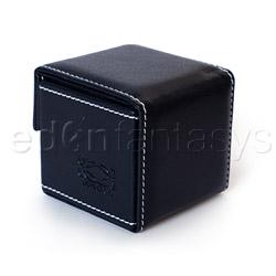 Storage container - Black condom cube - view #4