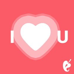 I Love You - Animated - E-gift card