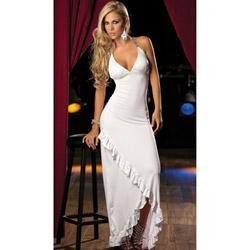 White long gown - maxi dress