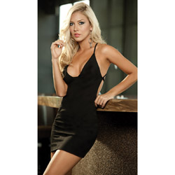 Criss cross halter dress - mini dress