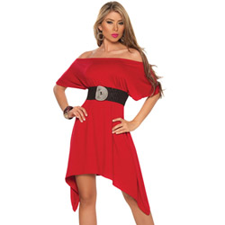 Belted beauty dress - mini dress