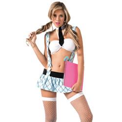 Teach me Love school girl blue - costume