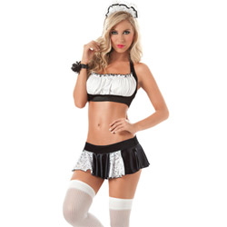 Feeling frisky french maid - costume