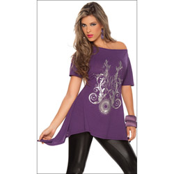 Glam rock seduction - tunic