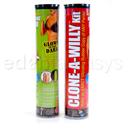 Clone-a-willy glow in the dark kit - molding kit