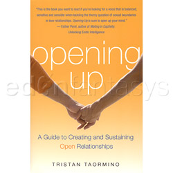 Opening up - erotic book