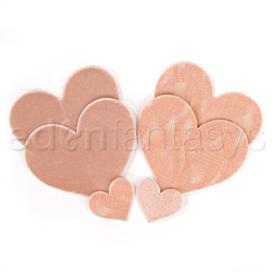 Crème heart pasties