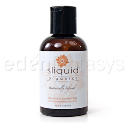 Sliquid organics warming - water based lube