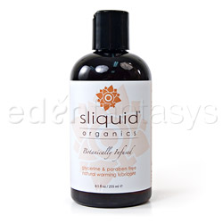 Sliquid organics warming - lubricant