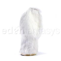 Massage mitt - Rabbit fur mitt - view #2