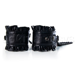 Good girl bad girl wrist cuffs