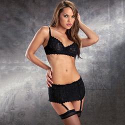 Sexy lace four piece set - bra and panty set