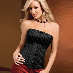 Apprentice zip-front corset